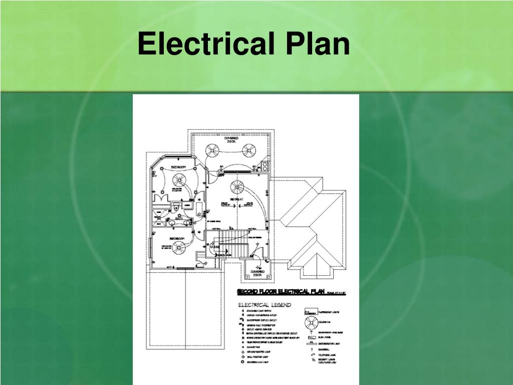Ppt Architectural Design The Electrical Plan Powerpoint