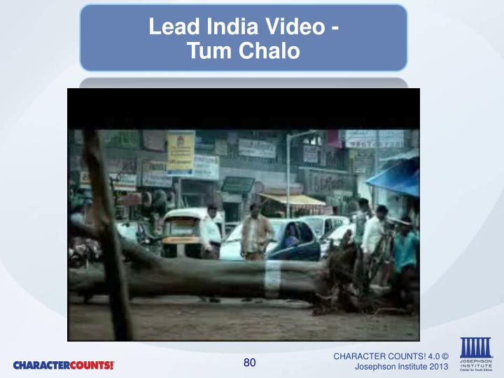 Lead India Video -