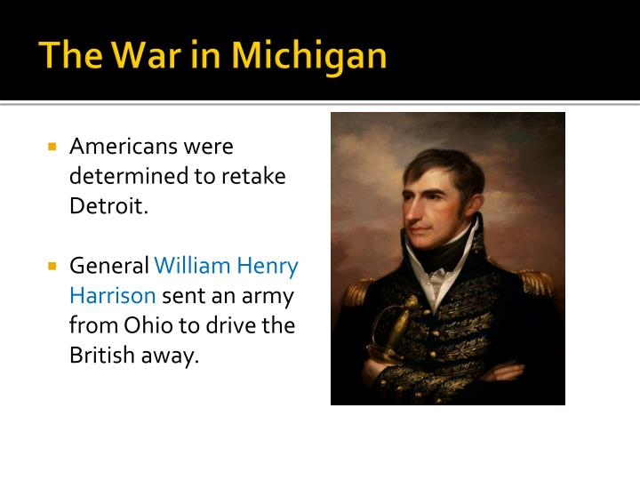 The War in Michigan