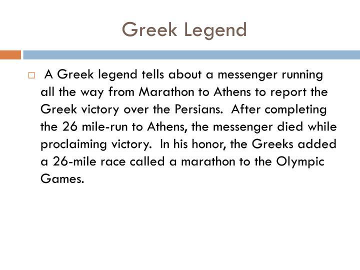 Greek Legend