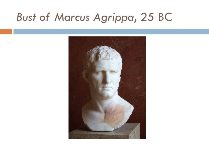 Bust of Marcus Agrippa