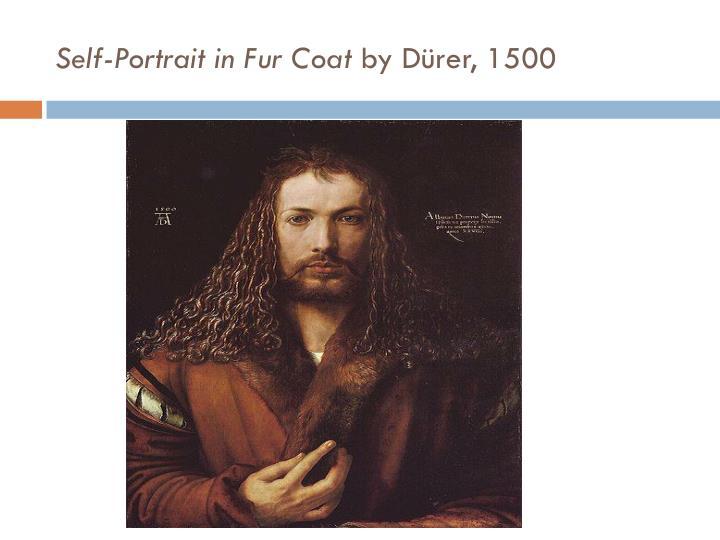 Self-Portrait in Fur Coat