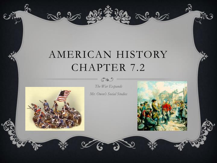 American history chapter 7 2