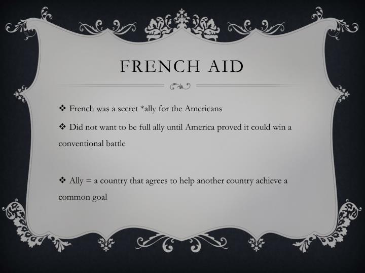 French aid