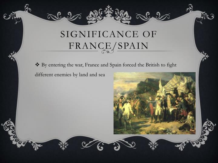 Significance of France/Spain