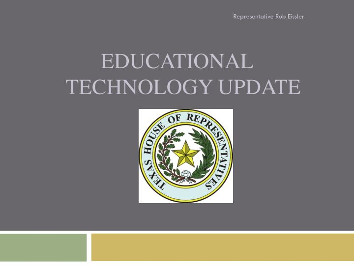 educational technology update n.