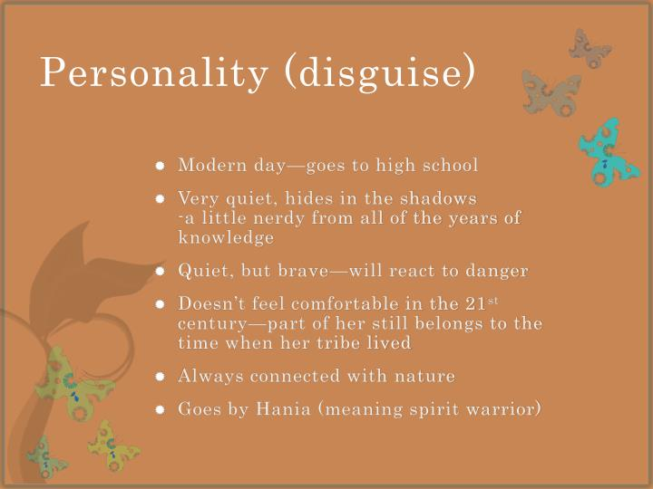 Personality (disguise)