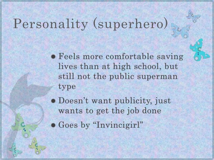 Personality (superhero)