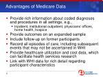 advantages of medicare data