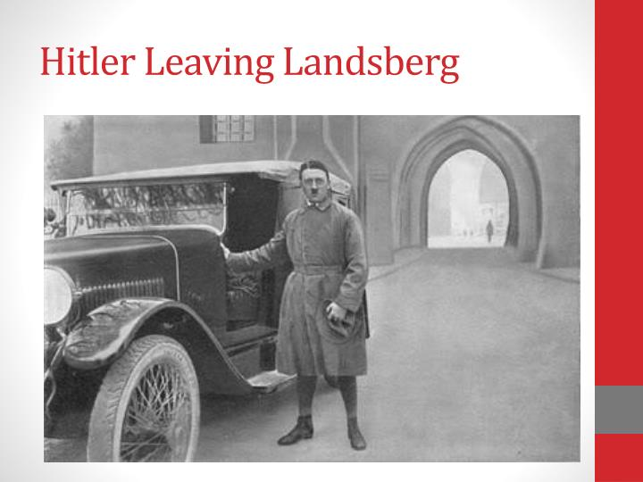 Hitler Leaving