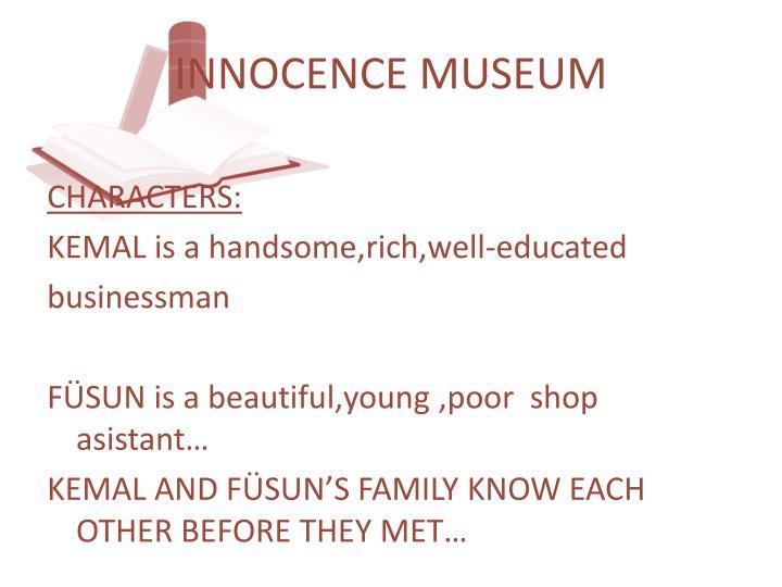 INNOCENCE MUSEUM