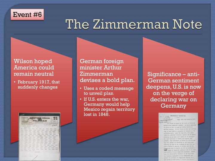 The Zimmerman Note