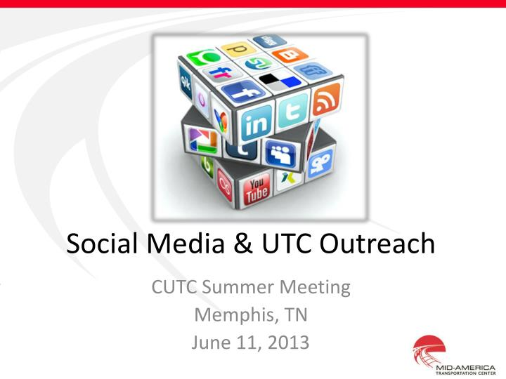 social media utc outreach n.