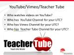 youtube vimeo teacher tube
