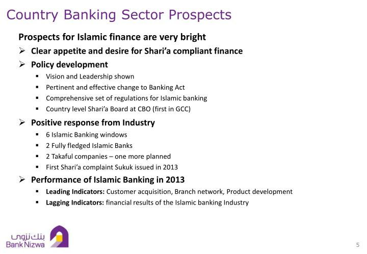 Country Banking Sector Prospects