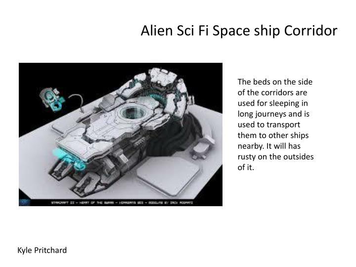 Alien sci fi space ship corridor1
