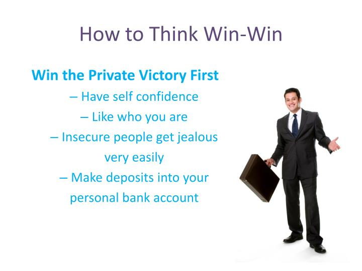 How to Think Win-Win