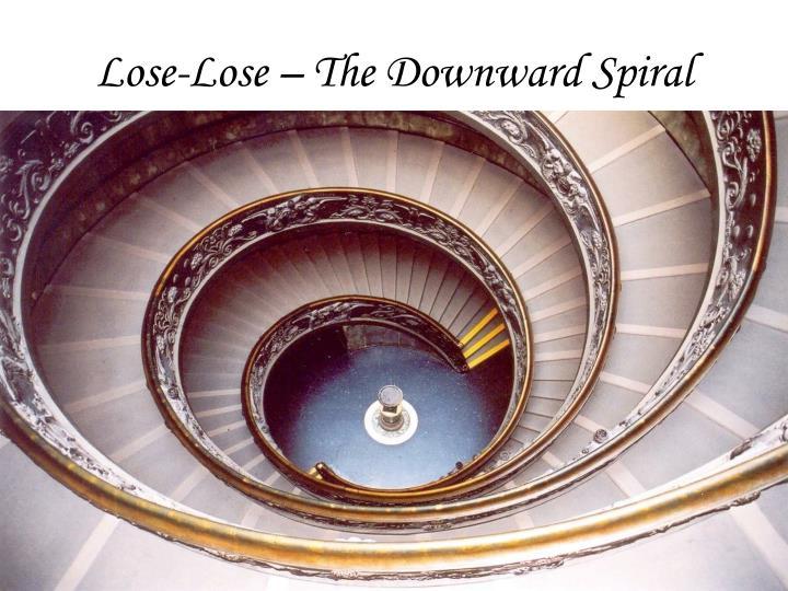 Lose-Lose – The Downward Spiral