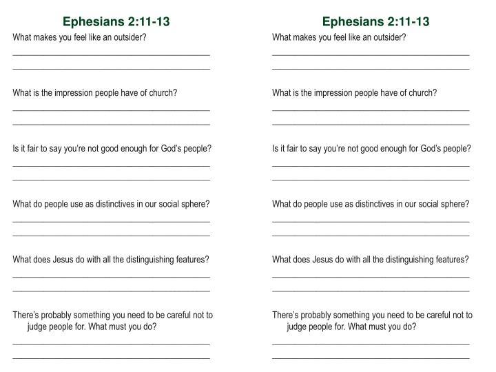 Ephesians 2:11-13