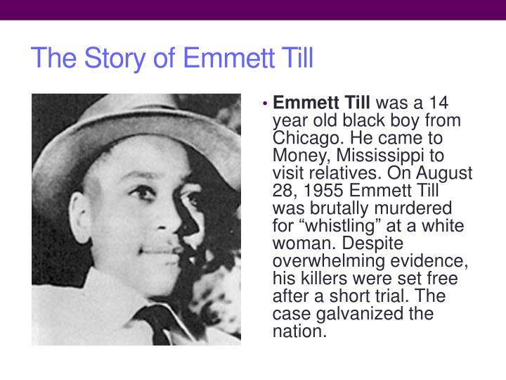 The Story of Emmett Till