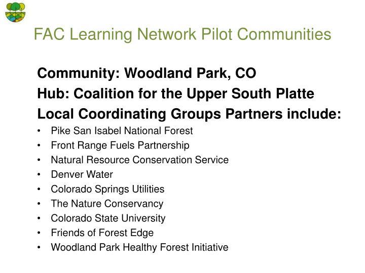 Community: Woodland Park, CO