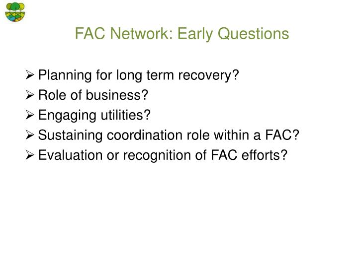 FAC Network: