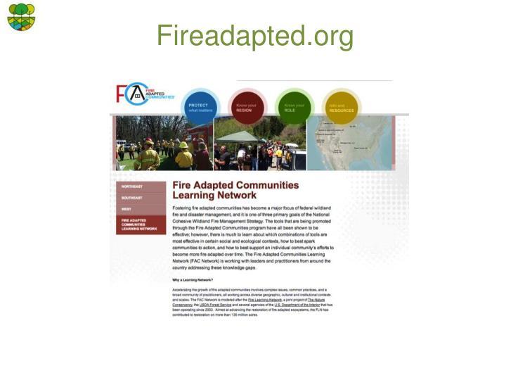 Fireadapted.org
