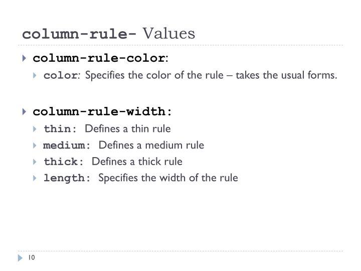 column-rule-