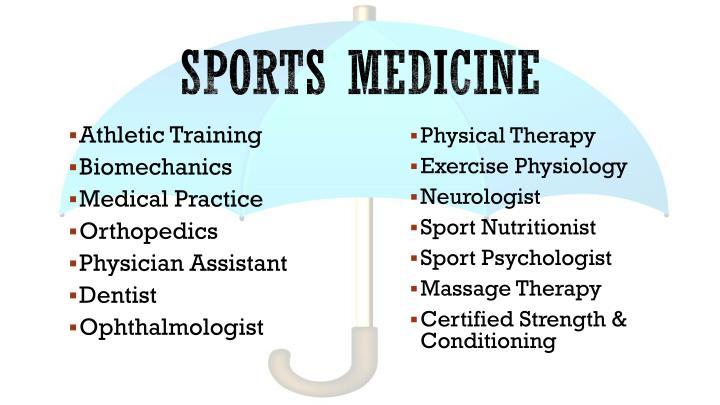 Sports medicine1