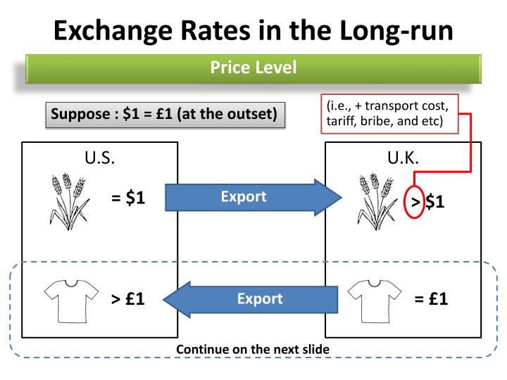 Exchange Rates in the Long-run