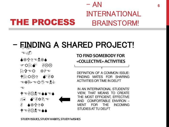 - FINDING A SHARED PROJECT!