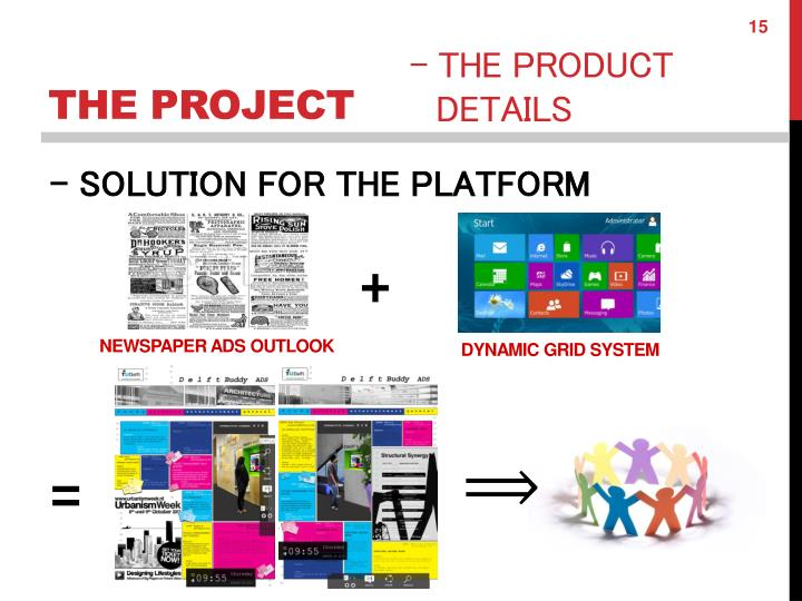 - SOLUTION FOR THE PLATFORM