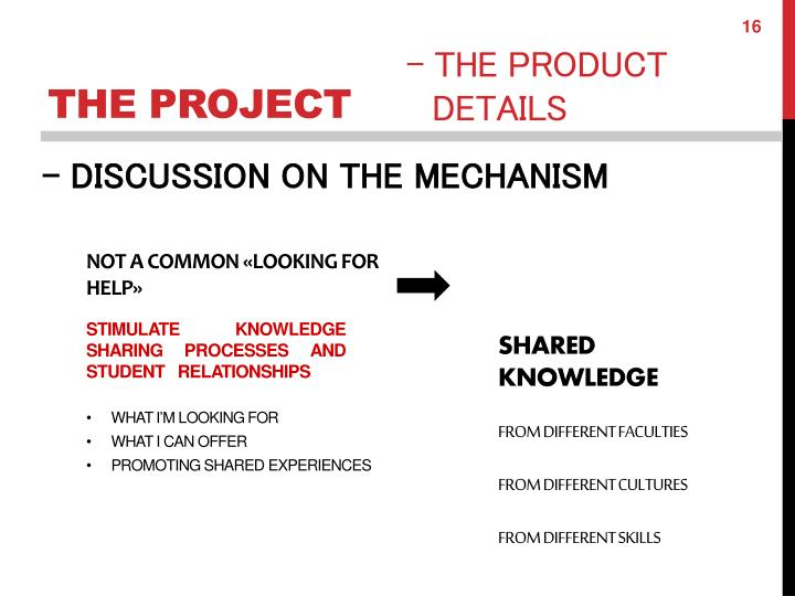 - DISCUSSION ON THE MECHANISM