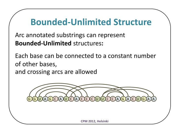 Bounded-Unlimited Structure