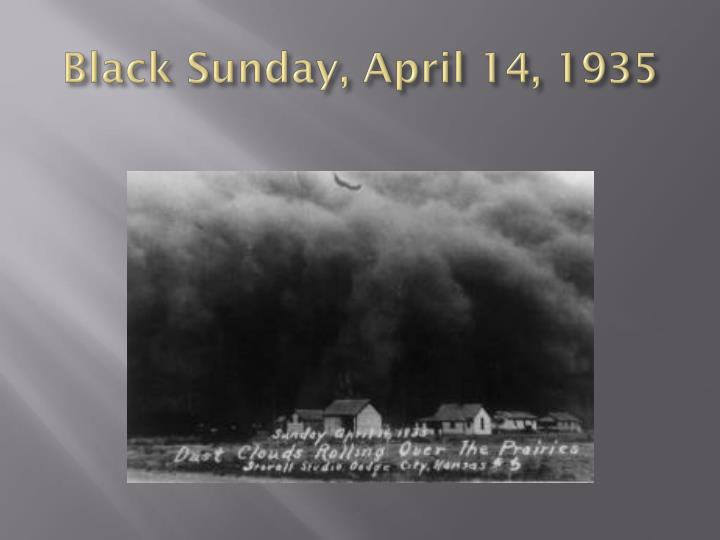 Black Sunday, April 14, 1935