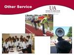 other service