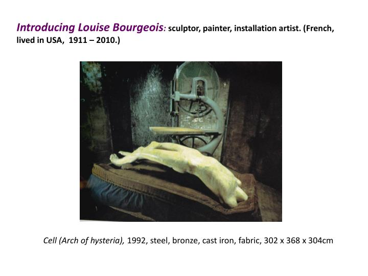 Introducing Louise Bourgeois