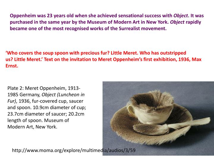 Oppenheim was 23 years old when she achieved sensational success with