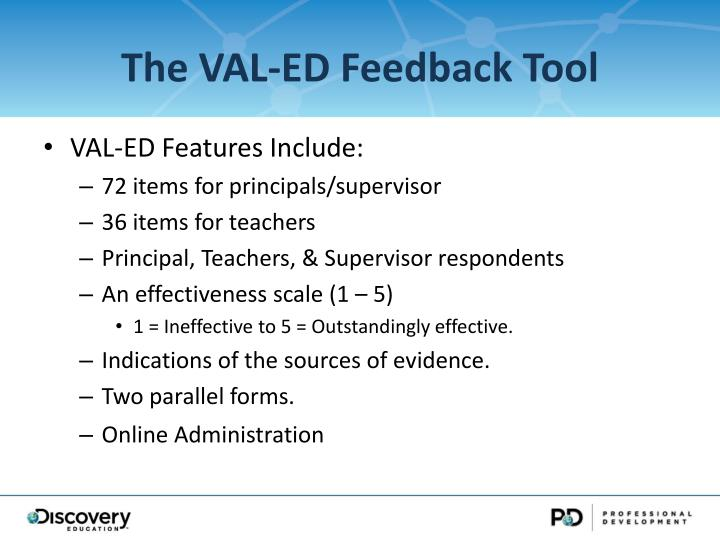 The VAL-ED Feedback Tool