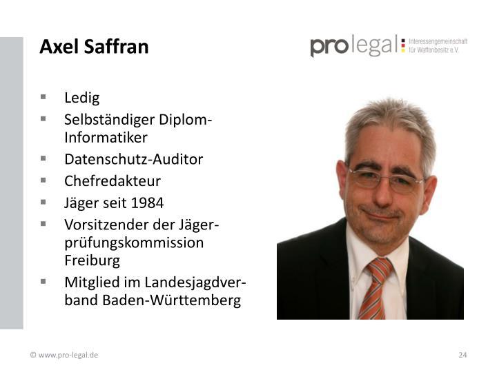 Axel Saffran