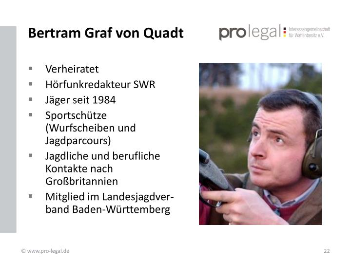 Bertram Graf von Quadt