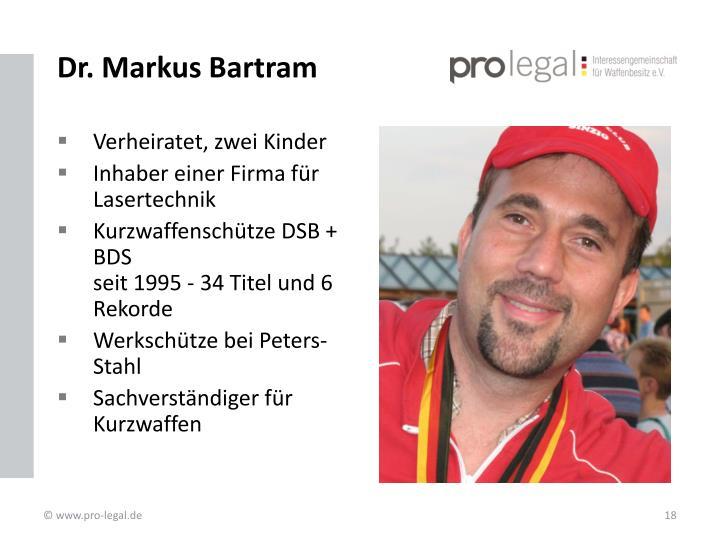 Dr. Markus Bartram