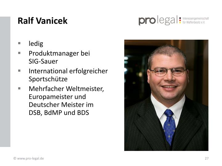 Ralf Vanicek