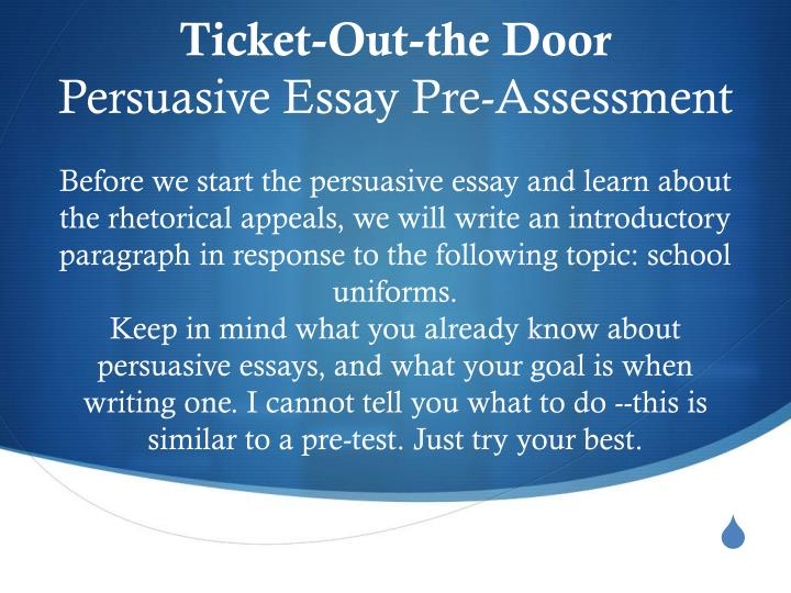appealing essay In a descriptive essay, the writer expresses his/her feelings on a subject that can be a person, an object, experience, an event or a place make your essay as appealing as possible.