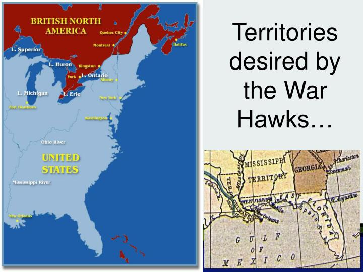 Territories desired by the War