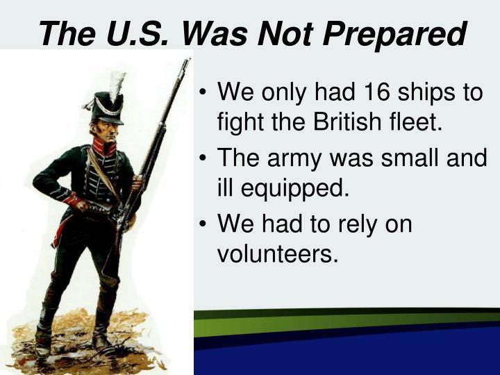 The U.S. Was Not Prepared