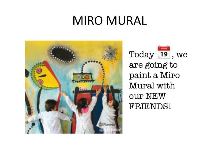 MIRO MURAL