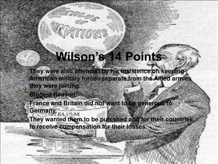 Wilson's 14 Points