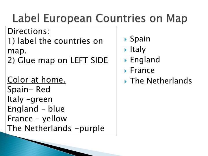 Label European