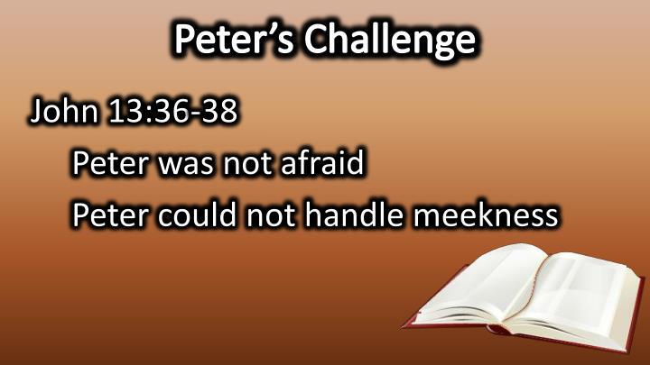 Peter's Challenge